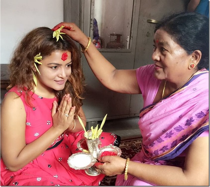 rekha Thapa Dashain 2016