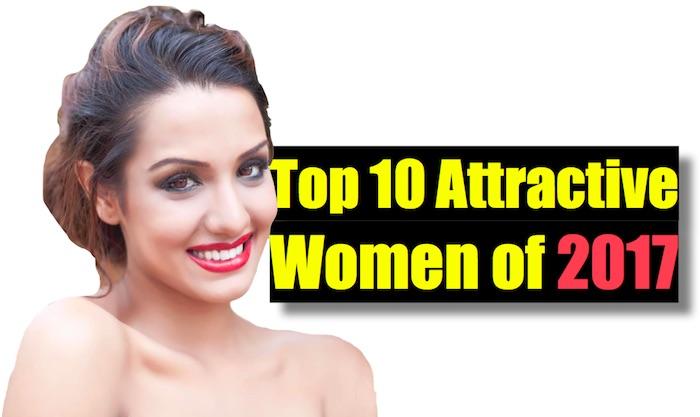top 10 attractive women