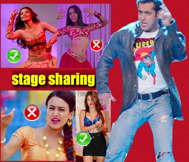 When Priyanka and Swastima refused to dance with Salman Khan ...
