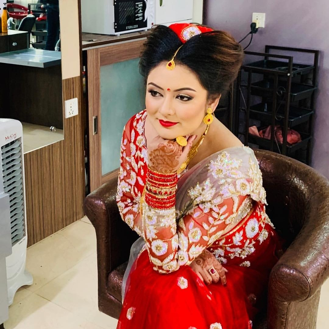 Barsha Raut weds Sanjog Koirala, media banned (Photos)