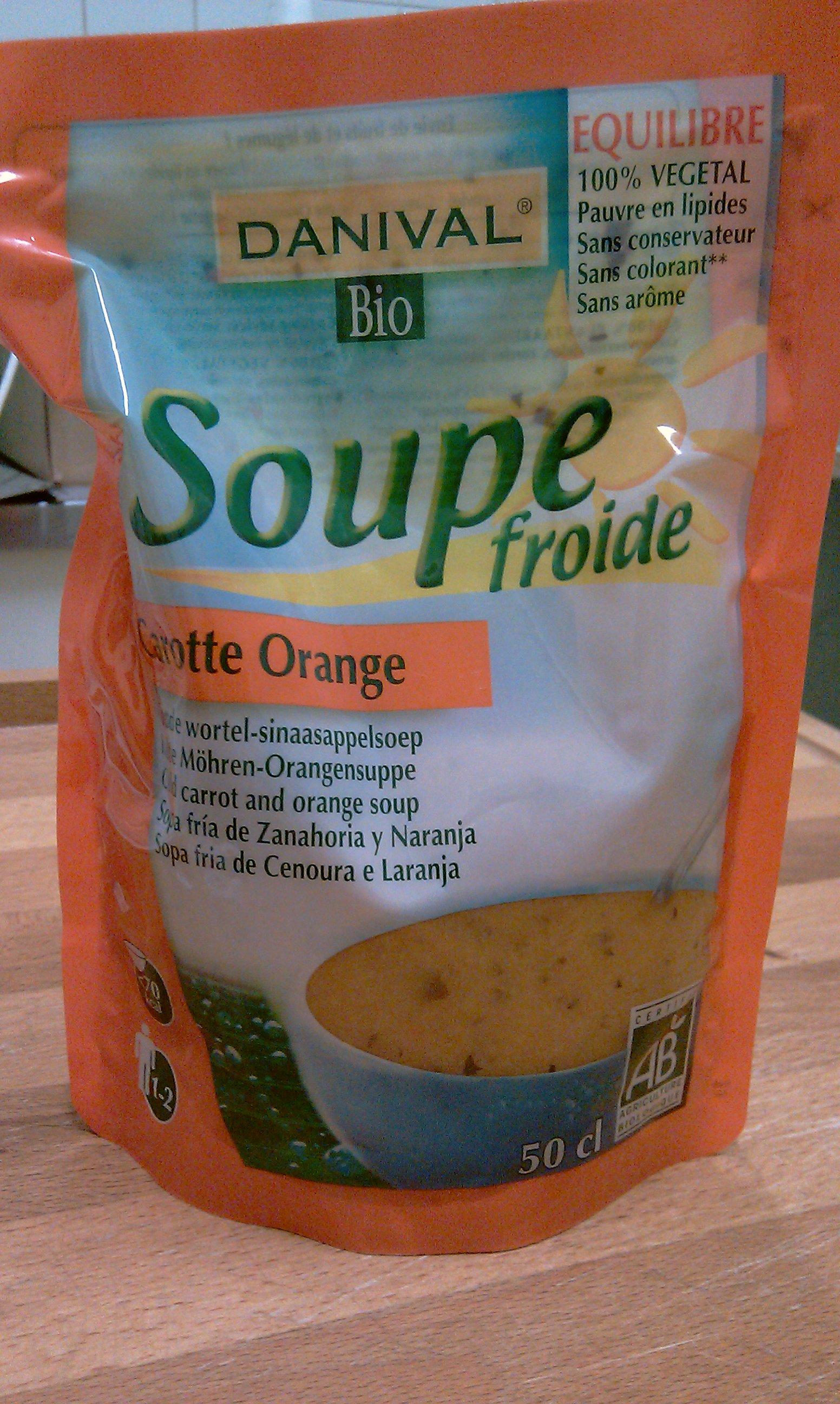 Sachet de la soupe bio