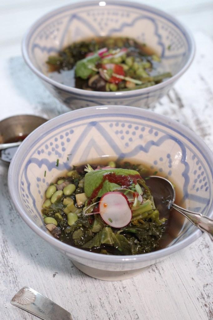 asian vege soup