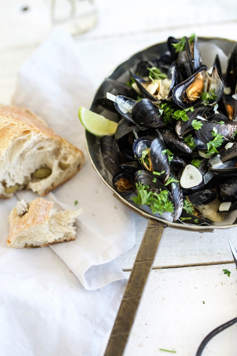 rustic mussels1 (1 of 1)