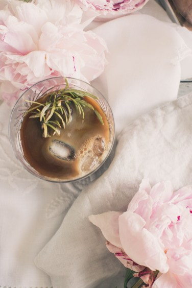 rosemary ice coffee2