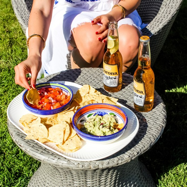 THE HAPPIEST HOUR:  HOMEMADE SALSA & GUAC