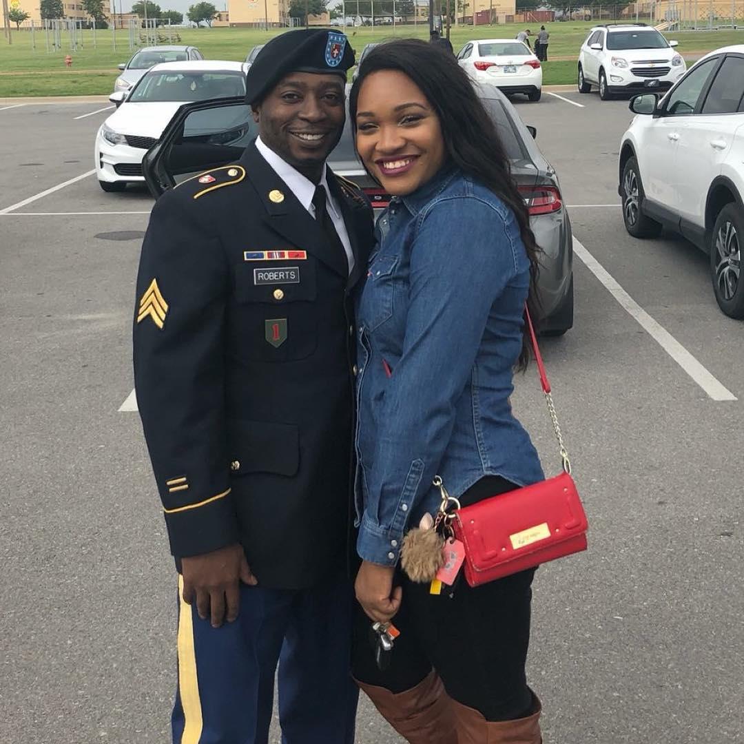 @xochantelmarie and her husband