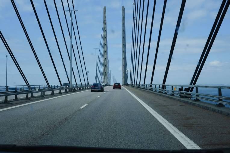 Öresundbrücke - das war dann schon auf dem Heimweg