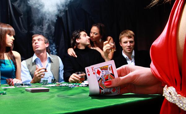 カジノでの遊興イメージ