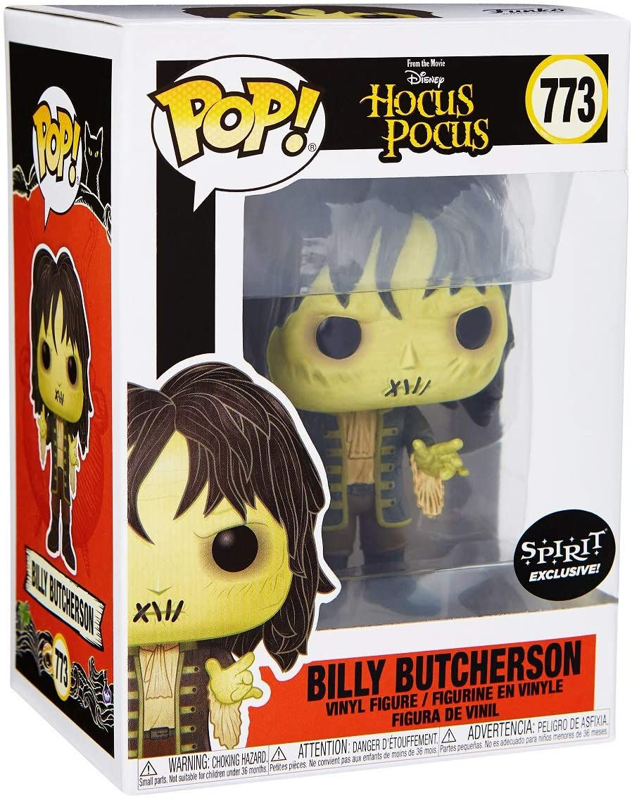 Funko Spirit Halloween Hocus Pocus Billy Butcherson Pop Figura