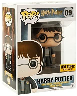 Funko - Pop Vinilo Colección Harry Potter - Figura Harry Potter