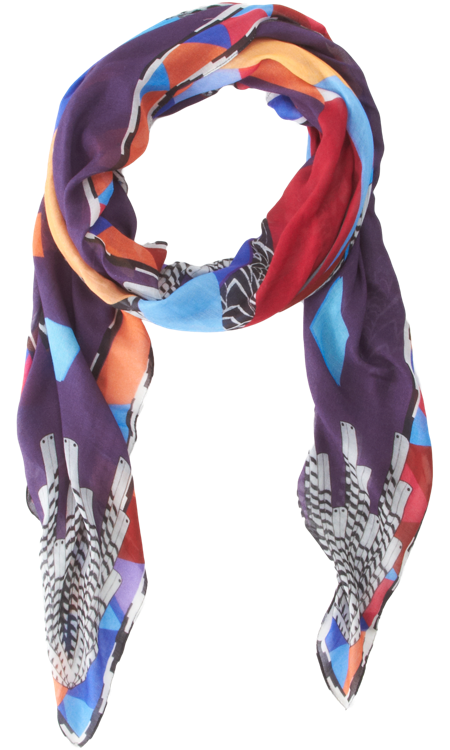 exclusively at barneys forget me not scarves xojohn