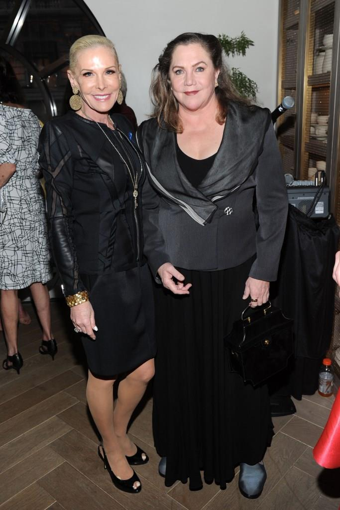 Michelle Herbert, Kathleen Turner== 20th Anniversary To Benefit The New York Center For Children== The Peninsula Hotel, NYC== April 16, 2015== ©Patrick McMullan== Photo - Owen Hoffmann/patrickmcmullan.com== ==