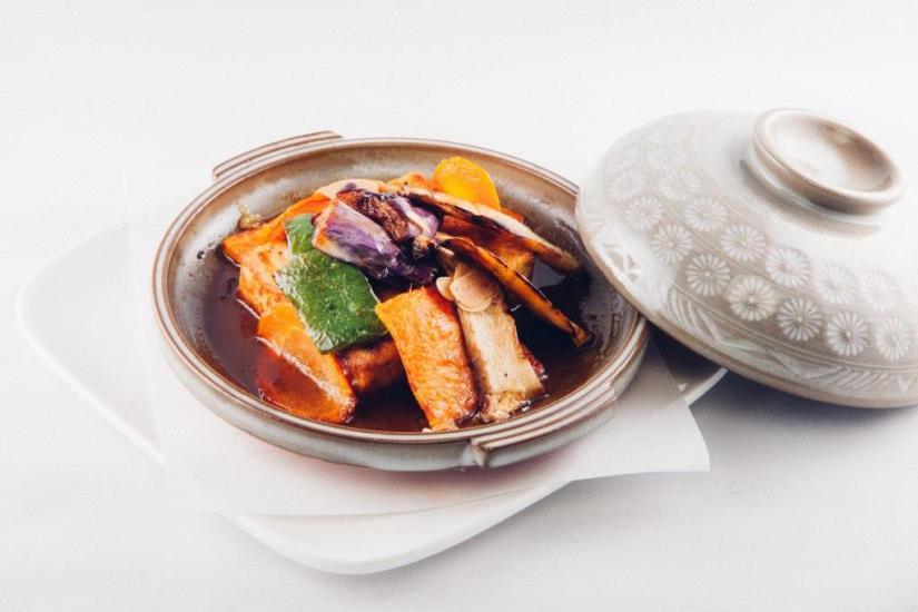 Tofu Veggie Toban Yaki