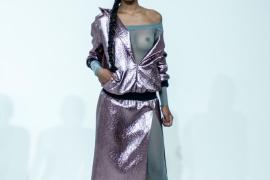 10-metallic-hoodie-dress-with-off-the-shoulder-mesh-catsuit