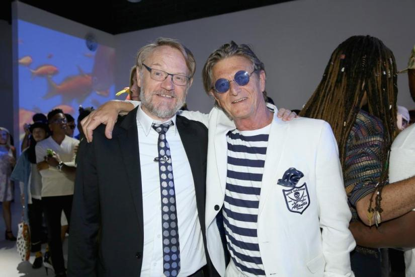 Nick Graham and Jared Harris, Getty Images - Janice Yim