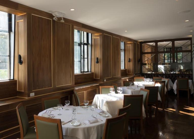 Tudor City Steakhouse Window Tables