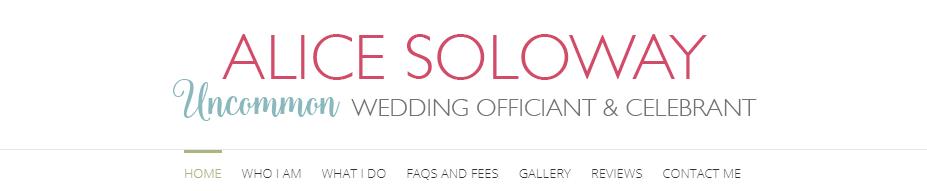 Alice Soloway Weddings Wedding Officiant New York City
