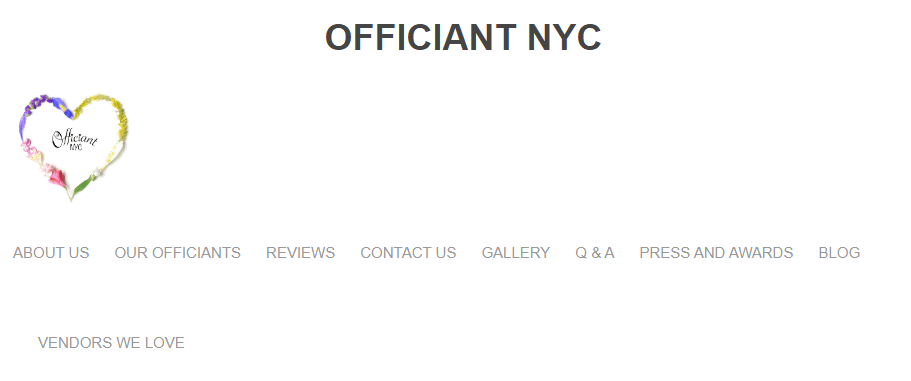 Officiant NYC Wedding Officiant New York City