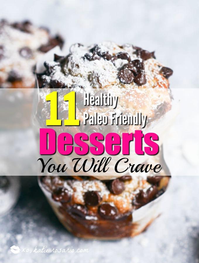 paleo desserts