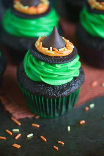 Witches Hat Cupcakes How to Make Witch Hat Cupcakes for Halloween Perfect for the Newbie Beginner Baker