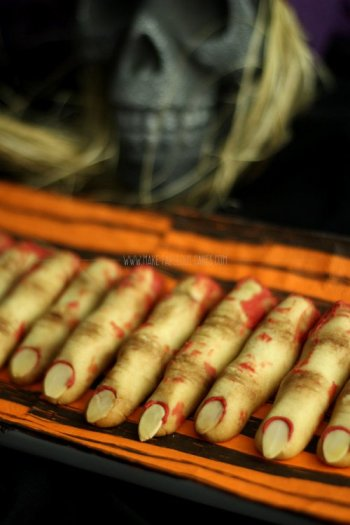 How to Make Zombie Witch Finger Cookies for Halloween Perfect for Newbie Beginner Bakers