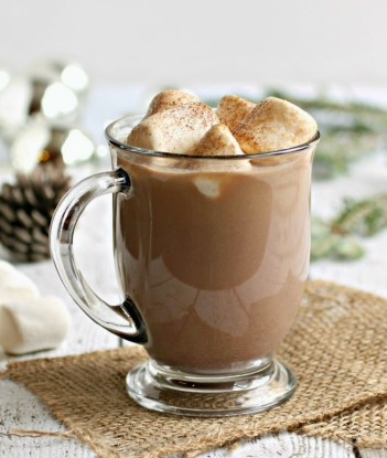 9 Delicious Hot CHocolate Recipes for Easy Entertaining: There is seriously nothing better than hot chocolate on a cold day! I really look forward to much cup of cocoa in front of a fire! I totally love that all these hot chocolate recipes are perfect for a holiday or Christmas party because you can use a crockpot for easy serving! The slow cooker makes it easy for entertaining! Pinning for later! Sugar and Spice Hot Chocolate Delicious Recipes for Easy Entertaining this Christmas