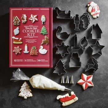 Williams Sonoma Christmas Cookie Kit. I love this guide! OMG! its so perfect for this holiday shopping season! I think most girls would love something from this post! The gift guide for her is perfect since everything is under $50. It certainly is going to make online shopping so much easier! Saving it for later!