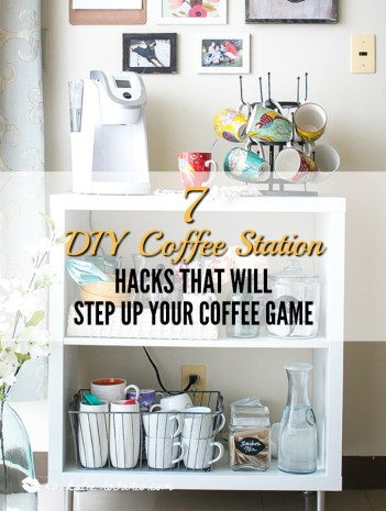 Astonishing 7 Diy Coffee Station Hacks That Will Step Up Your Coffee Frankydiablos Diy Chair Ideas Frankydiabloscom