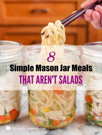 Making recipes that fit in a mason jar is super easy, I just always thought that is was always salads. But I just learned that it is easy to make potable lunches that aren't salads. How cool is that?! These single serve recipes are genius and range from breakfast to desserts and everything in between. Making portable meals is just a brilliant idea for the workplace. This is a must have! Pinning for now!