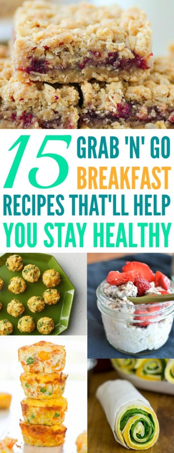 I can't be the only one with busy mornings! This is just genius! I love how easy these healthy on-the-go breakfast recipes are! I think it is just brilliant and something everyone will appreciate because it can keep you on your healthy diet. I am so excited to try all of these! Busy moms needs to try! Pinning now!