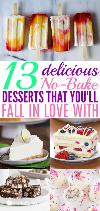 13 Delicious No Bake Desserts That You Will Fall In Love With