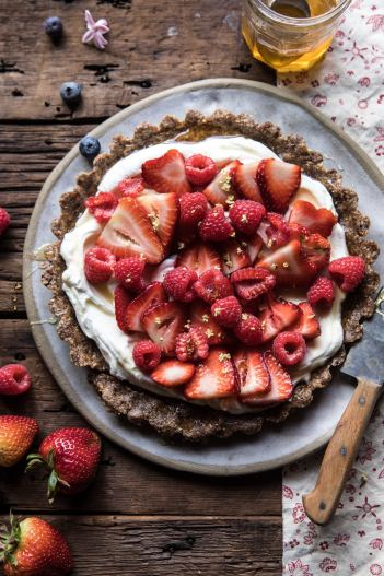 No Bake Fruit Tart, No Bake Summer Dessert Recipes