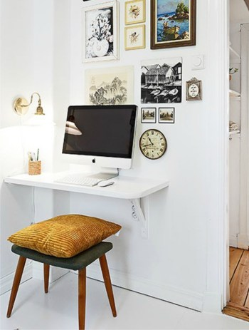 DIY Desk | DIY Small Space Living Hacks