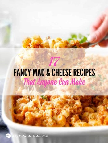 Fancy Easy Mac & Cheese Recipes