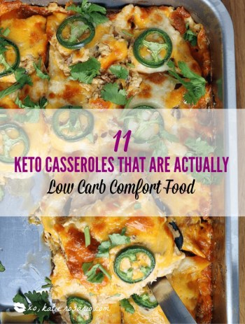 Low Carb Keto Casseroles