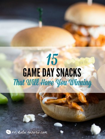 Football Game Day Snacks