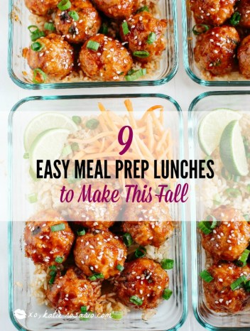 Meal Prep Lunch Recipes