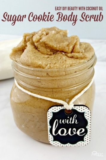 DIY Sugar Cookie Body Scrub | DIY Homemade Body Scrubs