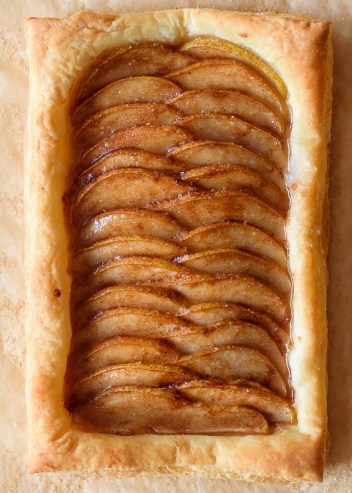 Ginger Pear Tart   Easy Puff Pastry Recipes