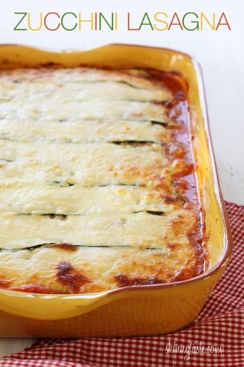 Zucchini Lasagna | Low Carb Keto Casserole