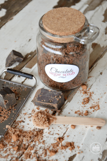 DIY Chocolate Sugar Scrub | DIY Homemade Body Scrub