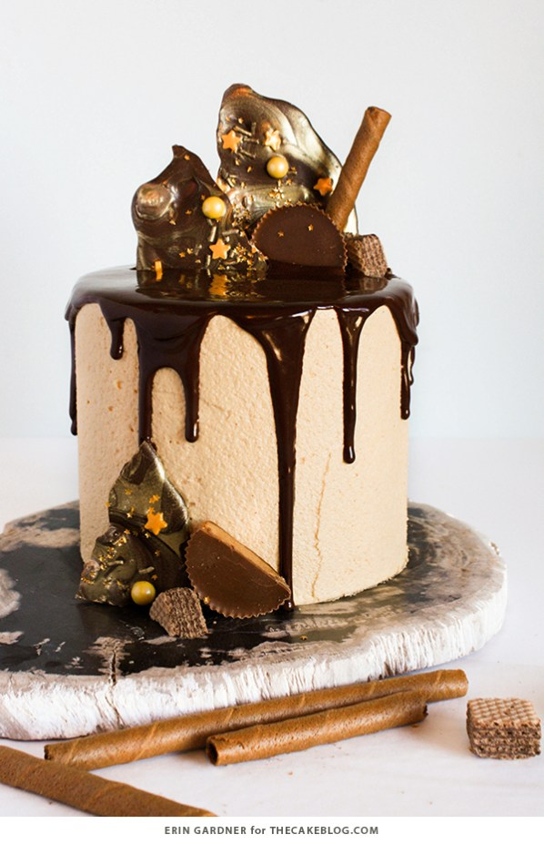 Chocolate Drip Cake by The Cake Blog | Easy Drip Cake