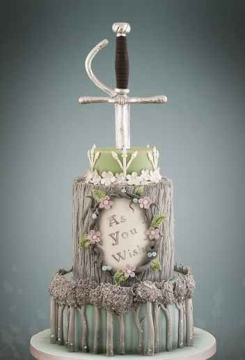 The Princess Bride | 10 Book Lover Wedding Cake Ideas