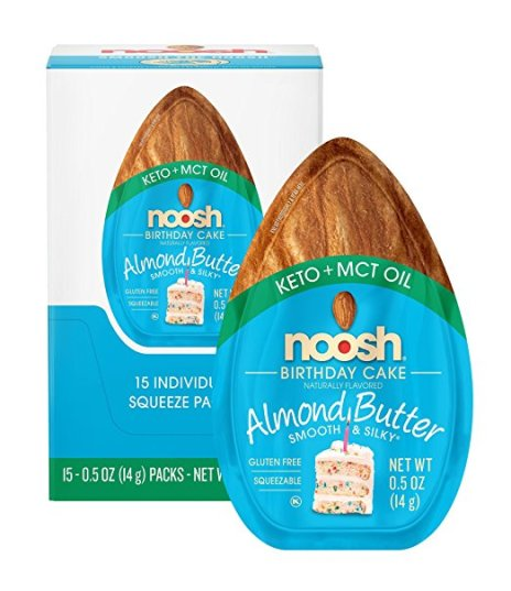 NOOSH Keto Almond Butter | Healthy Keto Approved Snacks You Can Find on Amazon