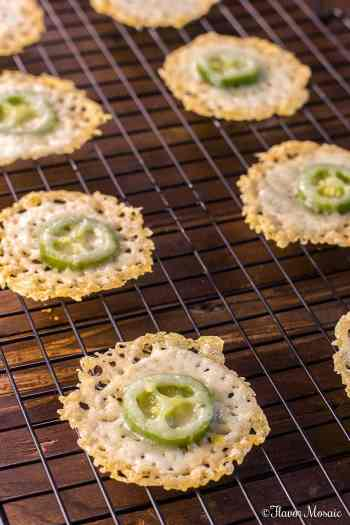 Jalapeno Parmesan Crisps | Keto Small Bites & Snack Recipes