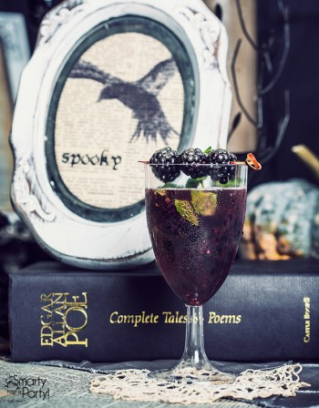 The Raven Edgar Allan Poe | Spooky Halloween Cocktails