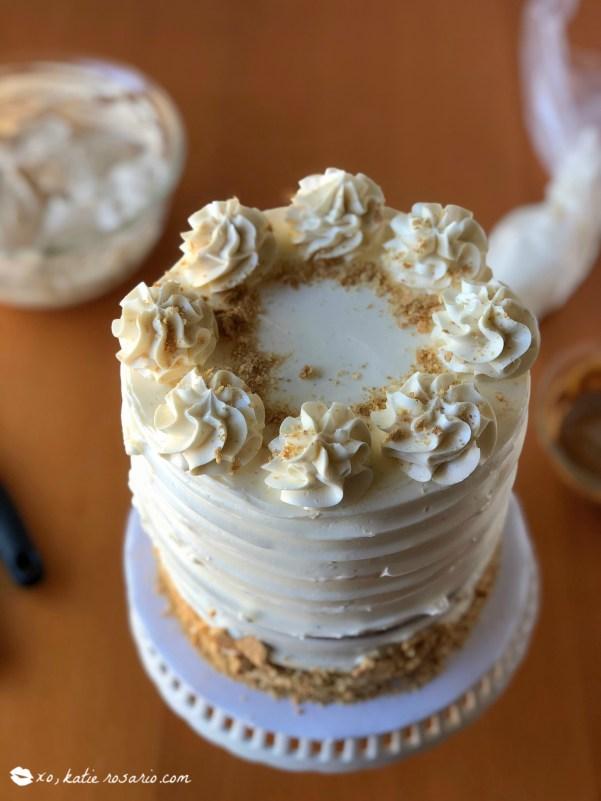 Cookie Butter Cake Recipe Tutorial by @xokatierosario