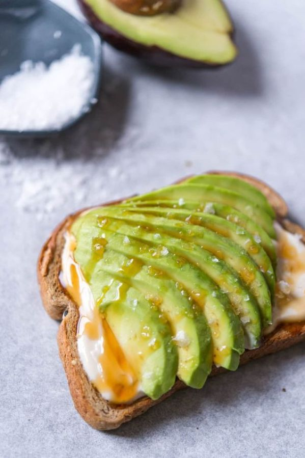 Honey Yogurt Avocado Toast | 13 Fancy Avocado Toasts That Are Totally Craveable