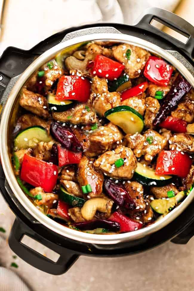 Instant Pot Kung Pao Chicken | 12 Keto Meal Prep Recipes For Your Busy Week