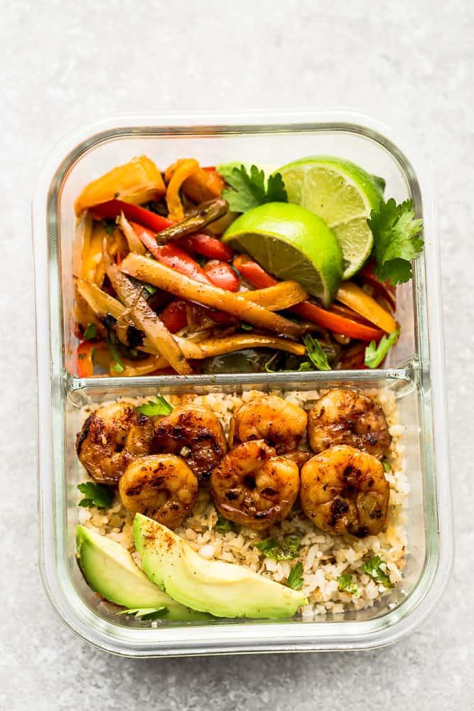 Sheet Pan Shrimp Fajitas | 12 Keto Meal Prep Recipes For Your Busy Week
